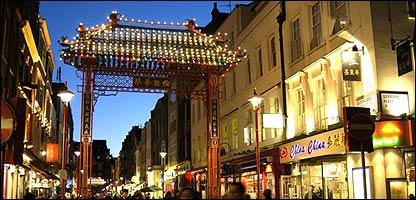 Barrio chino en Londres