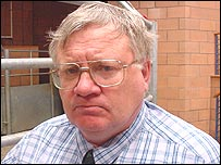Livestock director Huw Evans