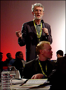 Noted blogger and consultant Jeff Jarvis