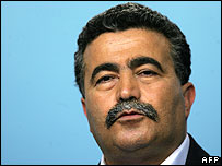 Labour leader Amir Peretz