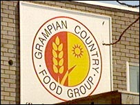 Grampian Country Food Group sign