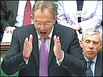 Tony Blair at question time