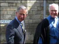 Prince Charles visiting Lincoln