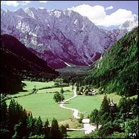 Slovenian valley