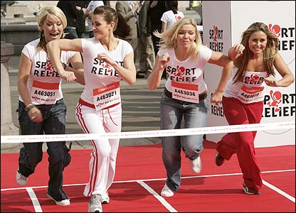 Zoe Lucker, Kirsty Gallagher, Kate Thornton and Sarah Barrand
