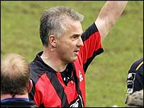Chris White in charge of an English Premiership match