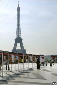 """Reporteros sin Fronteras expone en París fotos de los """"depredadores"""" de la libertad de prensa"""