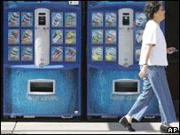 Máquinas expendedoras de bebidas