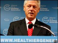 Ex presidente de EE.UU., Bill Clinton
