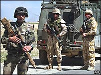 Nato forces in Afghanistan