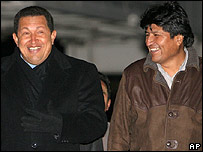 Chavez and Morales