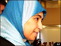 Karima Rjili, a Muslim preachers graduate in Morocco