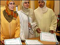 Women Muslim preachers graduate in Morocco