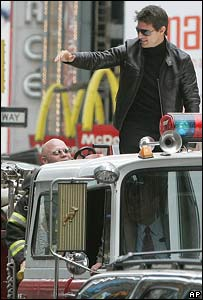 Tom Cruise, in New York