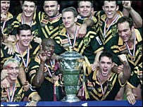 Australia won the last Rugby League World Cup in 2000