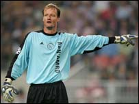 Former South Africa goalkeeper Hans Vonk