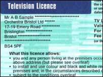 TV licence, BBC