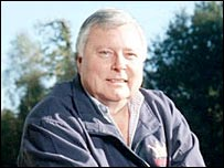 BBC Commentator Peter Alliss