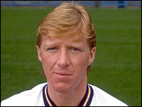 Steve McClaren as a Derby County player in 1986