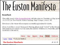 Screengrab of Euston Manifesto