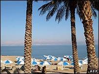 View of Ein Gedi resort