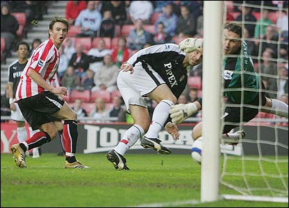 Anthony le Tallec scores for Sunderland