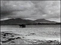 Photograph taken on South Uist