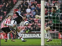 Anthony Le Tallec (left) opens the scoring