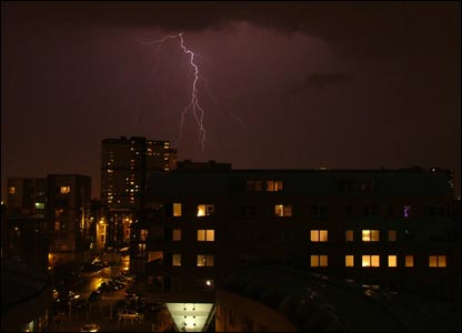 Lightning in the Gorbals