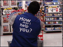 Shop worker