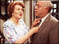 Hyacinth and Richard Bouquet from BBC TV series Keeping Up Appearances