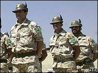 Italian peacekeepers in Afghanistan