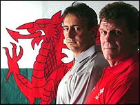Nigel Davies (left) and Gareth Jenkins