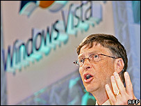 Microsoft chairman Bill Gates talks about Windows Vista