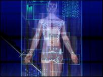 Компьютерное изображение человека