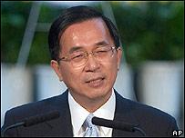 Chen Shui-bian, presidente de Taiwán.