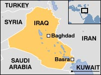 Basra  map