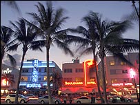 Art Deco hotels in Miami