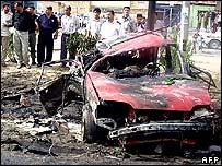 Scene from the Karbala blast