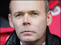 Sir Clive Woodward looks on during a Southampton match