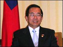 Chen Shui-bian, presidente de Taiwán