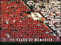 Arsenal fans gave Highbury a fitting send off