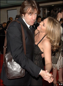 Jonathan Ross and Patsy Kensit
