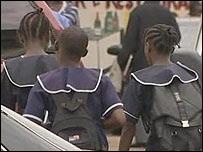 Liberia schoolgirls