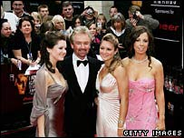 Noel Edmonds and his daughters Olivia, Lorna and Charlotte