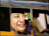 Jayalalitha campaign poster