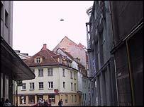 Breakfast viewer Eddie Reed took this photo on holiday in Latvia in September 2001