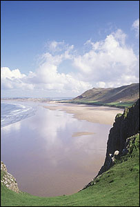 Gower peninsula (Image: NTPL/Joe Cornish)