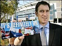 Cricket Australia chief James Sutherland
