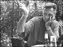 John Vink en Albania en 1999 (©Nikos Economopoulos-Magnum )